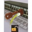 Ključ za blokator pristupa prespojnim kablovima NA5092SK