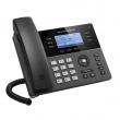 Grandstream-USA GXP-1760 Business 6-line/3-SIP VoIP HD telefon, LCD 200x80 displej i 2 x UTP porta 10/100Mb/s, 4 x XML + 24 x BLF programabilna tastera, PoE