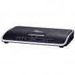Grandstream-USA UCM6204 IP-PBX telefonska centrala, 4 FXO + 2 FXS + 1 GWAN + 1 GLAN/PoE+, LCD, USB, SD slot, IVR/ACD/Voicemail/Fax, 45 istovremenih razgovora, 3 konferencije do 25 učesnika, Wave Android aplikacija