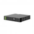 "Socomec NeTYS PR 1700/1350W Line-interactive AVR UPS, 19""-2U / tower, LCD, hot-swap baterije, RS-232 + USB, SNMP slot, EPO, LAN RJ-45 zaštita, 8 x IEC-C13 izlaz – 2 segmenta, konektor za EBX kabinet (NPR-1700-RT)"