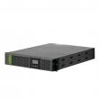 "Socomec NeTYS PR 3300/2700W Line-interactive AVR UPS, 19""-2U / tower, LCD, hot-swap baterije, RS-232 + USB, SNMP slot, EPO, LAN RJ-45 zaštita, 1 x IEC-C19 + 8 x IEC-C13 izlaz – 2 segmenta, konektor za EBX (NPR-3300-RT)"