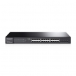 TP-Link TL-SG2424P / T1600G-28PS JetStream™ PoE+ L3-lite upravljiv svič 24-port Gigabit 10/100/1000Mb/s 802.3at/af do 192W + 4 x SFP Gigabit, 512 VLANs 802.1Q, SNMP, RMON, L2/L3/L4 QoS, IPv6 support, Static Routing