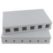 Utičnica nazidna blok sa 6 slotova dim. 164x94x30mm (Full)