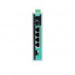 Moxa EDS-G205A-4PoE-1GSFP-T 5-portni gigabitni industrijski svič, 4 x 10/100/1000 BaseT(X) PoE/PoE+, 1 x 1000BaseX (SFP slot), -40 do 75°C