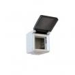 Kutija nazidna OG sa poklopcem za Legrand FR module (2M), outdoor, IK07 i IP65 water-proof, dim. (ŠxVxD): 64x74x51.7mm, EFAPEL (48998 CBR)