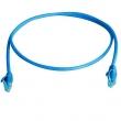 Telegärtner patch cord UTP kabl kat. 6, LSZH, duž. 1,0m - plavi (P/N L00000A0293) - fabrički napravljen i testiran