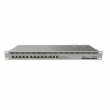 "MikroTik RB1100AHx4 ruter sa 13 Gigabit 10/100/1000Mb/s LAN/WAN, Quad core CPU 1.4GHz , Ipsec accelerator, 1GB RAM, PoE in 802.3af/at, dual redundant power supplies, 19"" rack, ROS L6"