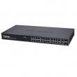 "Vivotek AW-GEV-264A-185 upravljivi PoE svič 19""/1U, 24xGbE RJ45(PoE) +2xGbE RJ45/SFP Combo, power budžet 185W, integrisana NetworkView aplikacija"