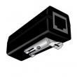 """Prenaponska zaštita indoor za STP kat. 5E / 6 liniju (RJ45 100/1000Mb/s) sa uzemljenjem, za DIN 3 šine - podržava PoE+ 802.3af/at, pražnjenje 20KA, moguća montaža u rack 19""""/1U nosač (GUARD CSD)"""