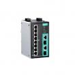 Moxa EDS-P510A-8PoE-2GTXSFP-T industrijski svič 8 x 10/100BaseT(X) PoE+ porta & 2 x combo Gigabit / 100/1000BaseSFP, -40 do 75°C