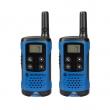 Voki toki Motorola TLKR T41 (par), 8 kanala na slobodnim frekvencijama PMR446, skeniranje kanala/monitor, LCD displej, pribor za nošenje, baterije 3 x AAA (nisu uključene), plava boja, domet od 50 m - 4 km