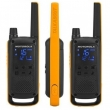 Voki toki Motorola Talkabout T82 Extreme (par), 16 kanala na slobodnim frekvenc PMR446, 121 privatni kod, ojačano eksterno kućište, LED lampa, microUSB punjač, dopunjive NiMH baterije, slušalice, torbica, domet 150m-10km
