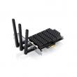 TP-Link Archer T9E AC1900 wireless dual band PCI Express 802.11ac/a/b/g/n kartica (400Mb/s @ 2.4 & 867Mb/s @ 5GHz), Atheros čip 100mW (20dBm), MIMO 3 x RP-SMA antene