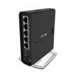 MikroTik hAP ac² WiFi & 3G / LTE AC1200Mb/s High Power 500mW dual band 2.4GHz & 5GHz 802.11ac/a/b/g/n VPN Gigabit ruter 5 x LAN/WAN, PoE in, USB za 3G/4G modeme & storage, Ipsec Hardware kriptovanje, temp -40º÷50ºC, RL4