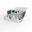 MikroTik wAP LTE Kit outdoor 4G LTE VPN ruter WiFi 300Mb/s 802.11n sa ugrađenim 4G LTE modemom do 150Mb/s / 3G do 42Mb/s, miniSIM, LAN port, PoE & DC automotive 9-30V napajanje, PoE injector +24V, temp. -40C÷60C, ROS L4