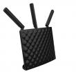 Tenda AC15 WiFi Gigabit router AC1900Mb/s 802.11ac/a/b/g/n dual band 2.4 & 5GHz, Broadcom chip, 4 x Ethernet 100/1000Mb/s, USB3.0 (File & Print), Beamforming+, WISP / Universal Repeater, WPS, 3 antene, Tenda Cloud App