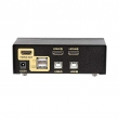 HDMI KVM USB svič CKL-92H  2 ports HDMI 1.4 Compliant up to 1080p HDTV, svič mode: push button / hotkey / mouse