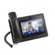 "Grandstream-USA GXV3370 Multimedia Android 16-line/16-SIP VoIP HD telefon, 7""(1024×600) touch screen TFT LCD, ugrađen Bluetooth, WiFi 2.4/5GHz Dual-band, USB, SD, HDMI i 2 x UTP Gigabit porta, PoE+ (IPVideoTalk / Skype)"