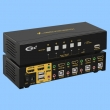 HDMI KVM USB svič CKL-94HUA  4 ports HDMI 1.3a Compliant up to 1080p HDTV, audio, svič mode: push button / hotkey / mouse