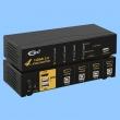 HDMI KVM USB svič CKL-94H2  4 ports HDMI 2.0 Compliant up to 4K HDTV, svič mode: push button / hotkey
