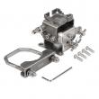 МikroTik solidMOUNT napredni metalni držač uređaja iz LHG serije za stub, precizno podešavanje po horizontali / vertikali