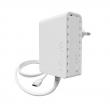 MikroTik PWR-Line AP 300Mbps 802.11b/g/n WiFi Powerline Extender za mrežu preko strujne instalacije, Mode/ Sync/ Reset Button, RouterOS L4