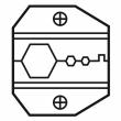Modul za univerzalna klešta Coax RG-8/11 za N konektore (1PK-3003D6)