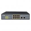 Cudy GS1010P PoE+ Gigabit svič 10-port 10/100/1000Mb/s (8 PoE 802.3at/af do 120W, port max. 30W),  VLAN & CCTV extend mode do 250m, prenaponske zaštite, desktop / rackmount, ulaz 100~240VAC–50/60Hz, MTBF≥50,000h (5.7god)