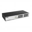 "D-Link DGS-1016D/E 16 port 10/100/1000Mb/s desktop / 19"" rackmount svič, 10K Jumbo Frame, 802.1p QoS (8 redova), Port Isolation, Storm Control, 802.3az Energy Efficient Ethernet (EEE), CSMA/CD, Cable Diagnostic LED"