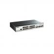 "D-Link DGS-1510-20 20 port L3-lite stekabilan upravljiv 19""/1U svič, 16xRJ-45+2xSFP+2x10G SFP+, LLDP/LLDP-MED, 802.3ad agregacija, MSTP, QoS, Static rute, ERPS, ACL, BDPU & DoS Attack prevencija, RADIUS & 802.1X AAA"