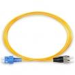 Fiber duplex patch cord kabl SC-FC duž. 2m, singlemode 9/125, UPC (ultra polish qualities) - fabrički napravljen i testiran