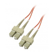 Fiber duplex patch cord kabl SC-SC duž. 2m, multimode 62.5/125, UPC (ultra polish qualities) - fabrički napravljen i testiran