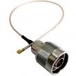 U.FL na N (muški) low loss antenski pigtail kabl