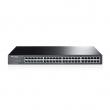 """TP-Link TL-SF1048 48-port 10/100Mb/s desktop / 19"""" rackmount svič, 802.3x flow control, 9.6Gbps capacity, interno napajanje AC100-240V /50-60Hz, Energy-efficient – 50% manja potrošnja, max. 9.9W"""