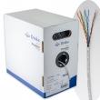 UTP kabl kat. 5E Draka UC300 24 4P FRNC / LS0H - testiran do 300MHz, bez halogena; Delta / EC & 3P sertifikovan