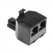 Adapter - telefonski razdelnik 6P4C muški na 2 x 6P4C ženska