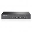 TP-Link TL-R480T+ Multi-Bandwidth / Load Balance Firewall ruter sa 1 x UTP WAN + 1 x UTP LAN +3 WAN/LAN 10/100 Mb/s, kontrola protoka po IP adresi ili portu, Intel IXP CPU - vrhunske performanse