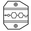 Modul za univerzalna klešta za krimpovanje RG-58, RG-174 i RG-8218 (1PK-3003D5)