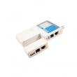 Line tester univerzalni za UTP/STP (RJ-45), telefonske (RJ-11 i RJ-12), USB i koaksijalne (BNC) linije