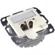Telegärtner poklopac AMJ sa 2 RJ-45 kat. 6+ Ea500 Fully Shielded STP (P/N J00020A0393)