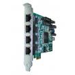 OpenVox B400P PCI VoIP Asterisk kartica 4 x ISDN BRI (8 B kanala)