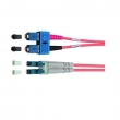 Telegärtner fiber duplex patch cord kabl T-SC/LC singlemode 9/125 duž. 2m (P/N L00891A0035), UPC (ultra polish qualities) - fabrički napravljen i testiran