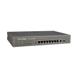 "TP-Link TL-SL2210WEB 8+2G port Managed Svič 8x10/100Mb/s+1x10/100/1000Mb/s+1xSFP Gigabit slot, 802.1Q VLAN, QoS, Security, 19"" rack, AC 100-240V / 50-60Hz"