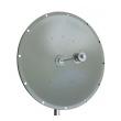 Parabolic Dish antena 32 dBi 5.4-5.7GHz ND-5457-30-4 - N(ž), H/V ugao 6 stepeni, pun tanjir prečnika 90cm