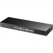 "Cudy GS1024 24-port Gigabit 10/100/1000Mb/s desktop/ 19"" rack svič, non-blocking architecture full wire-speed 48Gb/s capacity, 802.3x flow control, eco-efficient"