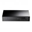 Cudy GS108 8-port Gigabit 10/100/1000Mb/s desktop / zidni svič, 802.3x flow control full-duplex, auto uplink & negotiation, metalno kućište