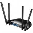 Cudy LT400 3G / 4G LTE Cat.4 ruter sa modemom (do 150Mb/s download), WiFi 300Mb/s na 2.4GHz 802.11b/g/n, SIM slot za karticu, Ethernet 10/100Mb/s WAN + 3 LAN, PPTP/L2TP VPN client, QoS, advance firewall, 4 x 6dBi antene