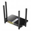 Cudy LT500 3G / 4G LTE VPN ruter sa modemom (micro SIM slot do 150Mb/s) WiFi AC1200Mb/s dual-band 2.4 & 5GHz 802.11ac/a/n/b/g, 3 LAN + WAN/LAN, VPN (PPTP/L2TP, OpenVPN, WireGuard), QoS, DDNS, SMS, firewall, 4 antene 5dB
