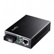 Cudy MC100GSB-40B Gigabit Ethernet 10/100/1000Mb/s Fiber single-mode konverter WDM BiDi (1310nm TX / 1550nm RX) dometa do 40km preko 1 fiber vlakna (SC konektor)
