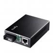 Cudy MC100SB-20A Fast Ethernet 10/100Mb/s Fiber single-mode konverter WDM BiDi (1550nm TX / 1310nm RX) dometa do 20km preko 1 fiber vlakna, BER<1E-9, podržava LFP (SC konektor)